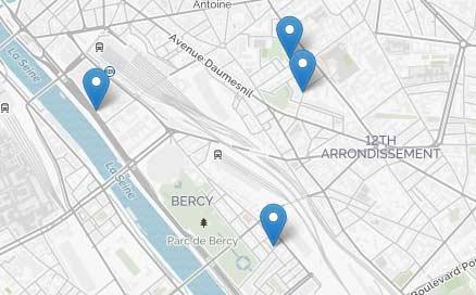 Centres : lieux & horaires