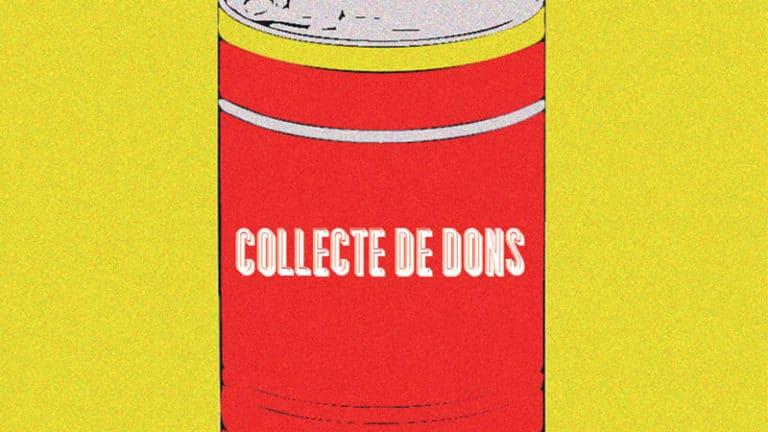 [Solidarité] : Collecte de dons