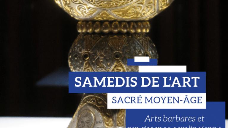 [Conférence] : Samedis de l'art – Les arts barbares et la renaissance carolingienne