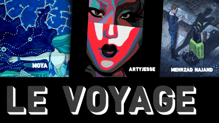 [Expo] Le Voyage – Exposition collective