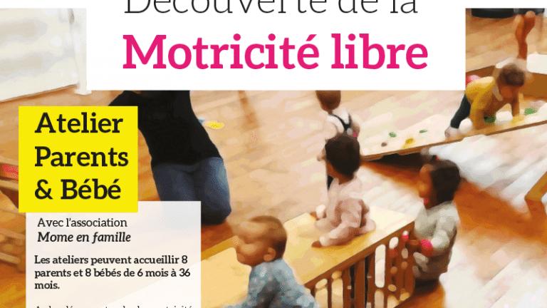Atelier Parents-bébés : Découverte de la motricité libre