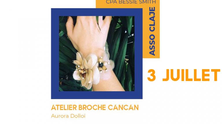 [Atelier]Création d'une broche avec Aurora Dolloï