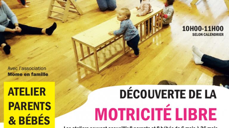 Atelier Parents & Bébé : Motricité Libre